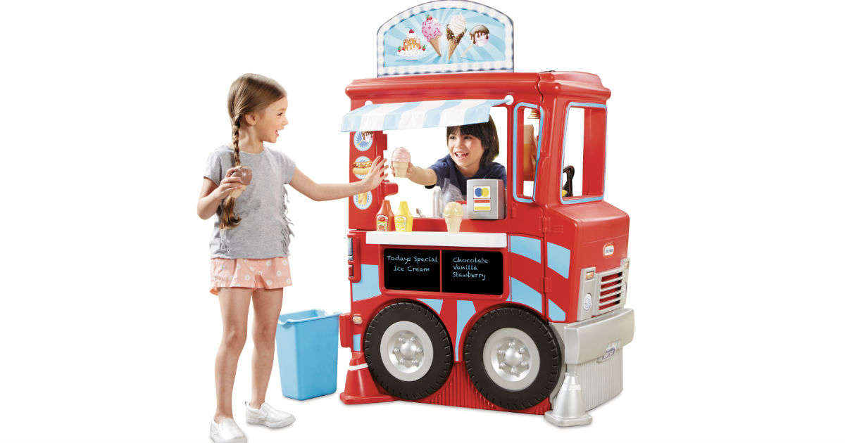 Little Tikes 2-in-1 Food Truck ONLY $99 (Reg. $160) at Walmart