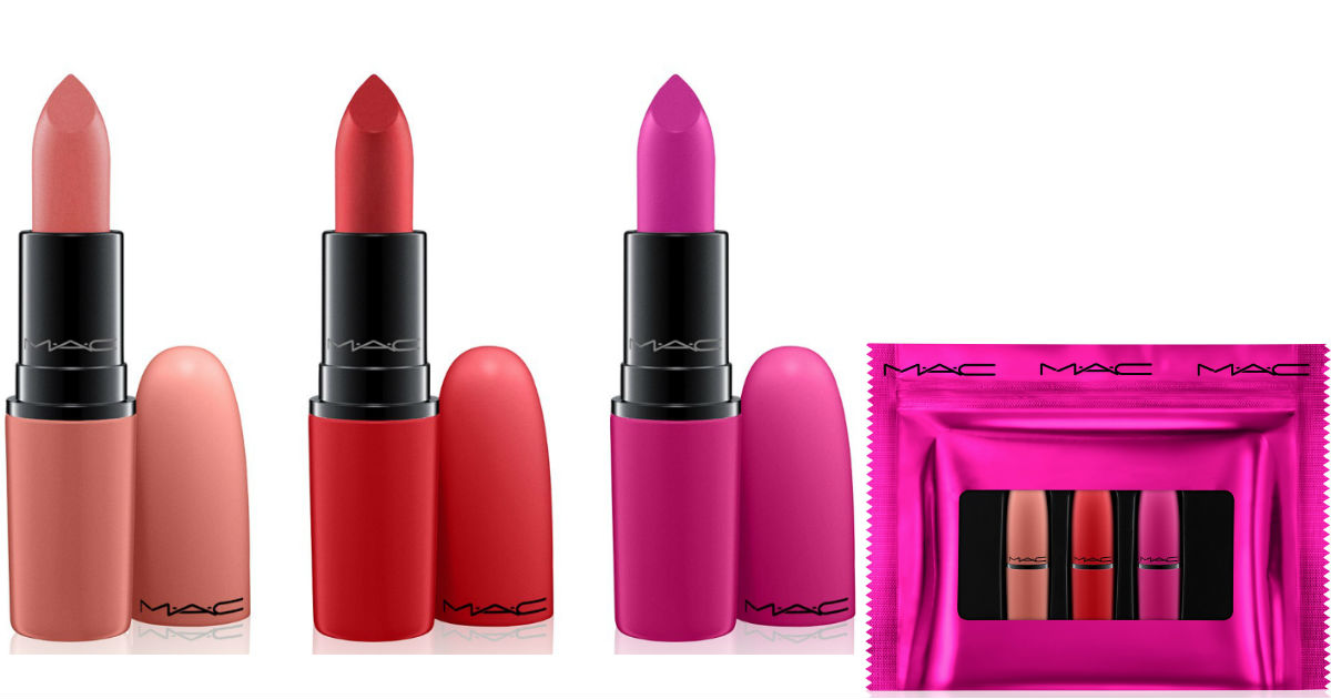 MAC Lipstick Gift Set ONLY $20.83 at Macys