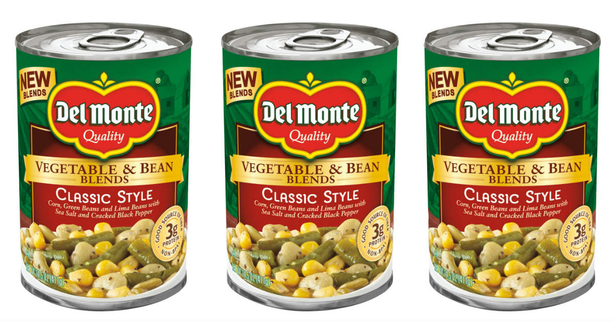 Del Monte Canned Vegetables ONLY $0.35 at Target (Reg. $1.49)