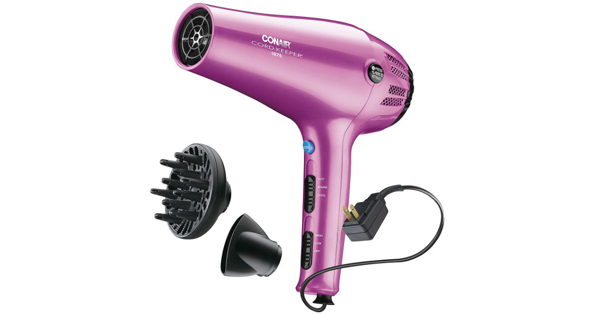 Conair Cord-Keeper Hair Dryer ONLY $11.88 Shipped