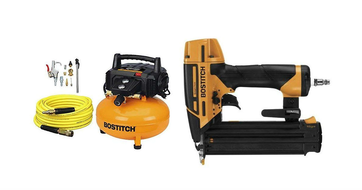 Bostitch Compressor and Nailer Kit ONLY $166.99 (Reg. $263)