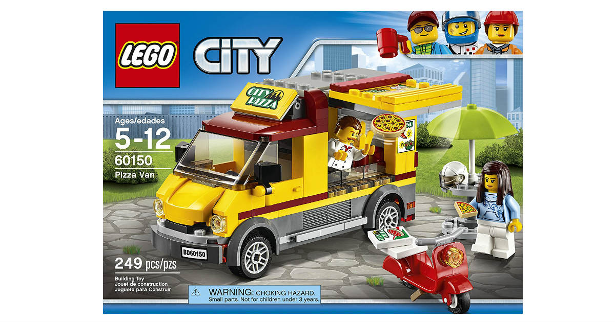 Lego City Pizza Van Only $12.99 on Amazon (Reg. $20)