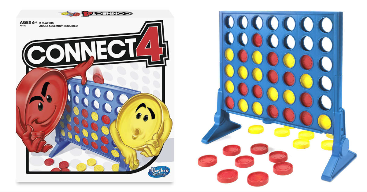 Connect 4 Game ONLY $6.15 on Amazon (Reg. $12.99)