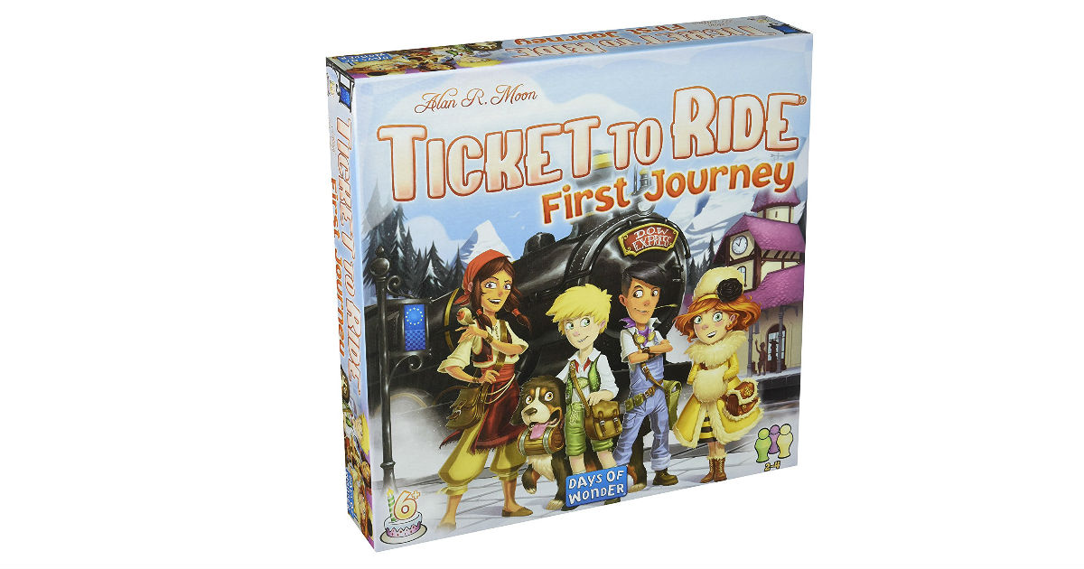 Ticket to Ride: Europe First Journey ONLY $21.49 (Reg. $35)
