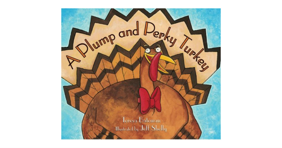 Save 50% on A Plump and Perky Turkey Children's Book