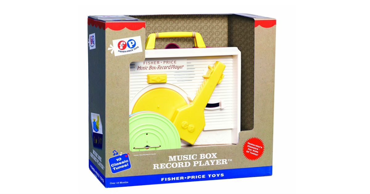 Fisher-Price Retro Record Player ONLY $19.08 (Reg. $40)