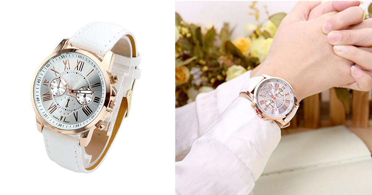 Top Plaza Women's Watch ONLY $7.99 Shipped on Amazon