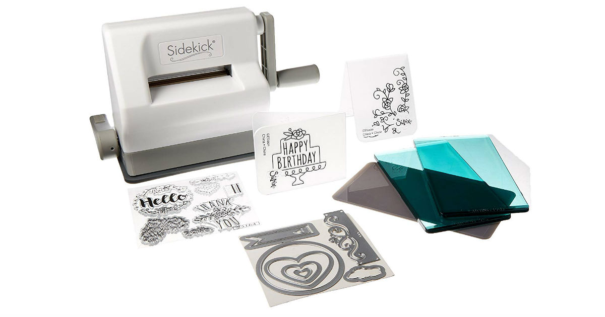 Sizzix Sidekick Starter Kit ONLY $26.52 on Amazon (Reg. $50)