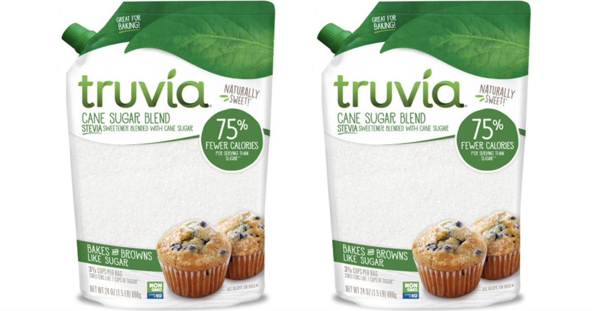 image regarding Truvia Coupons Printable named Truvia Cane Sugar Basically $2.99 at Concentration with a Large Charge
