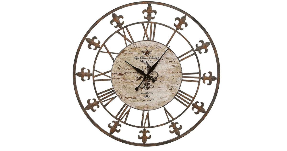 Save 59% on Metal Clock on Amazon - $64.10 (Reg. $156)