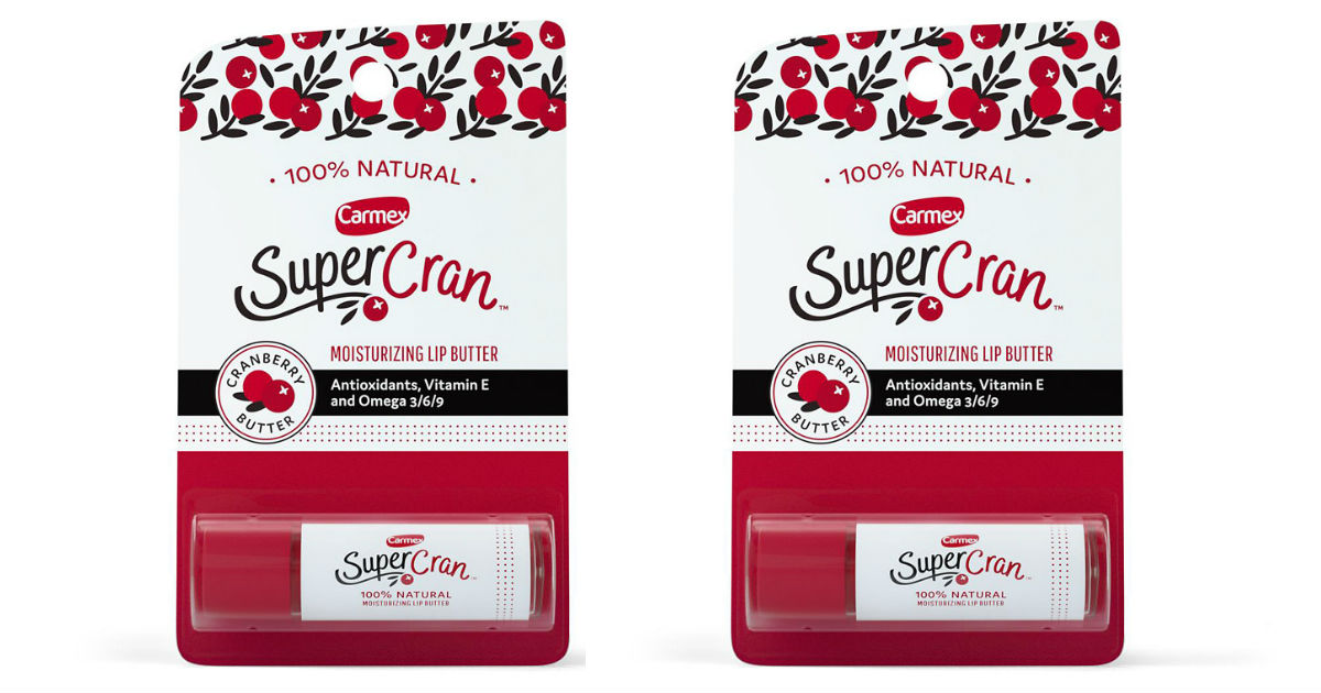 Carmex SuperCran Lip Butter ONLY $0.49 at Walgreens