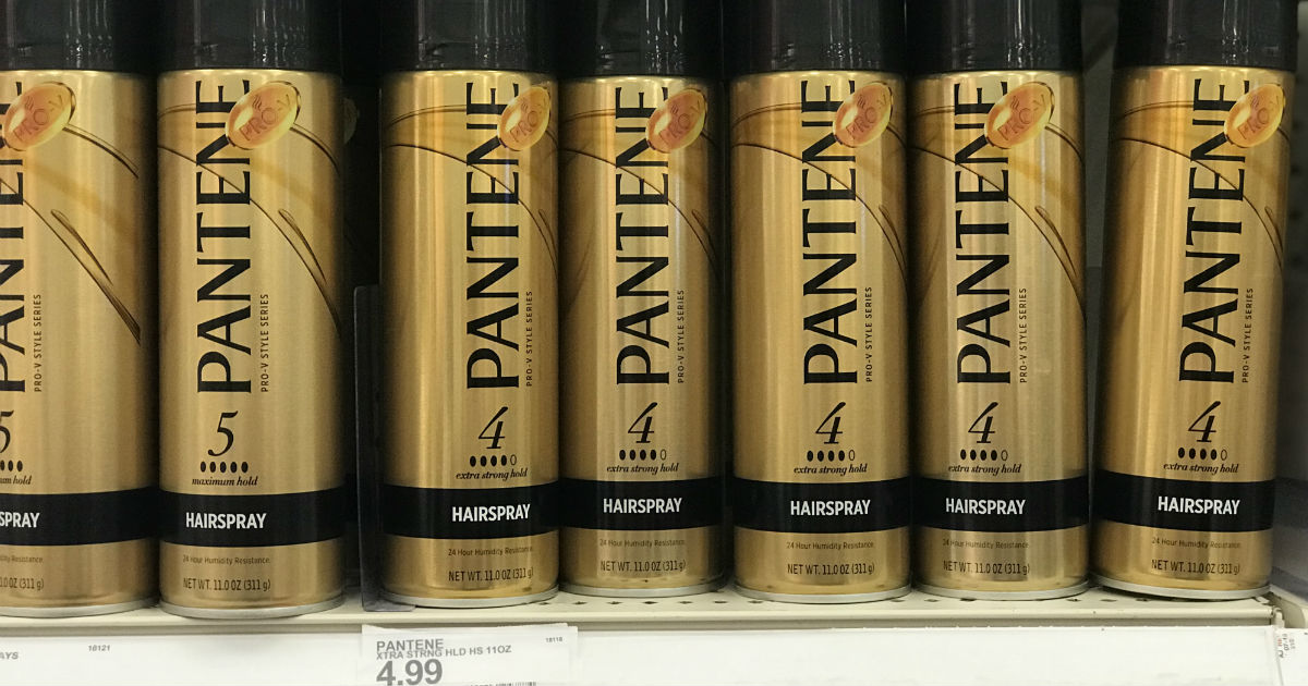 Pantene Hair Spray ONLY $1.49 at Target