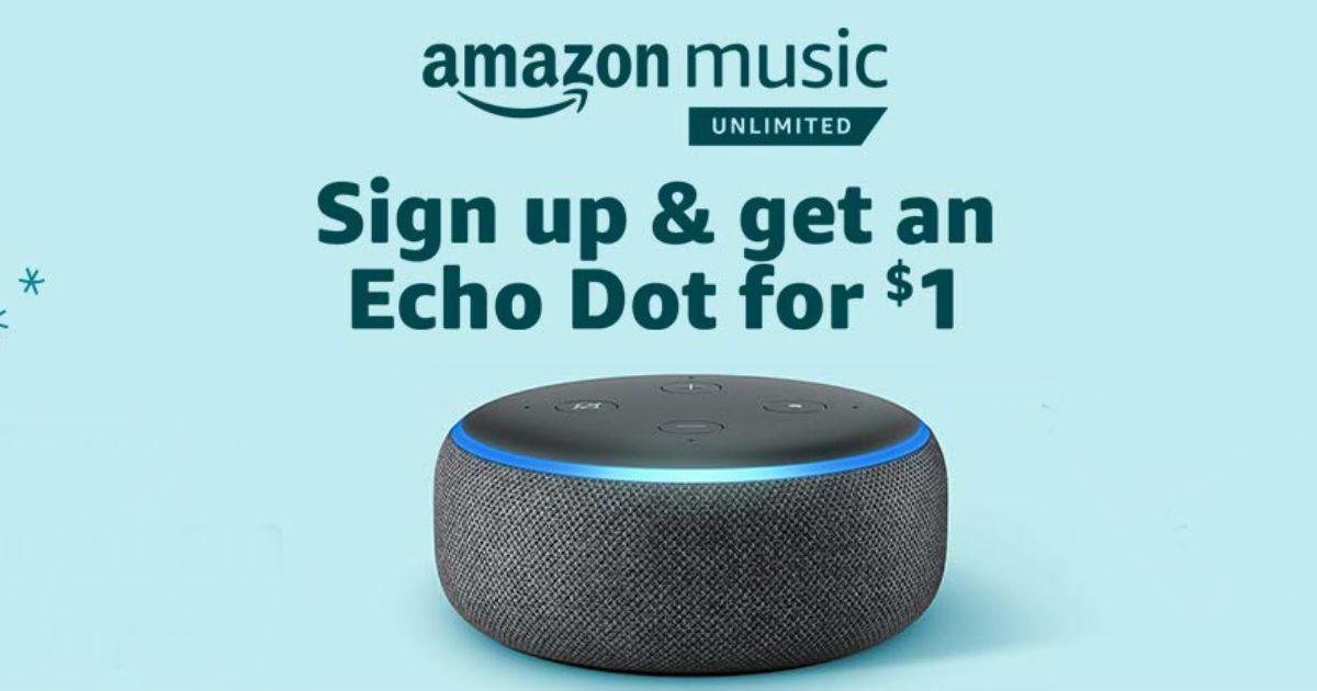 echo dot on Amazon
