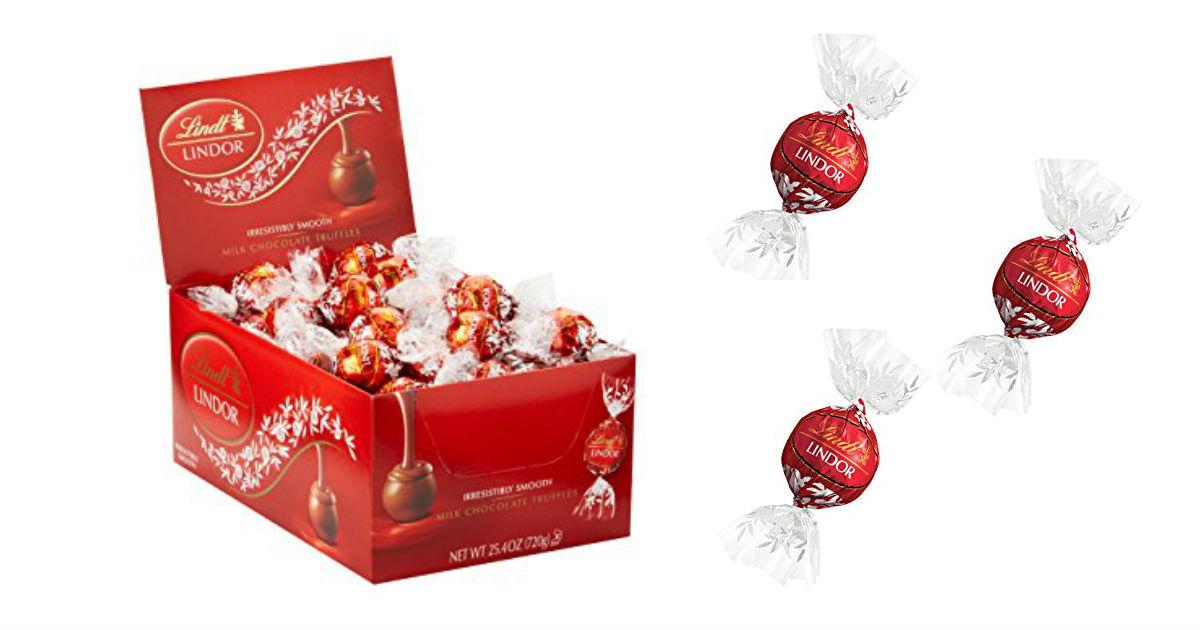 Save 30% Off Lindt & Ghirardelli Chocolates on Amazon