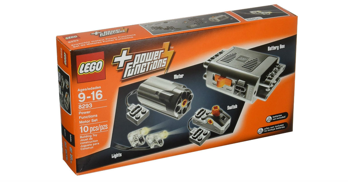 Lego Technic Power Functions Motor Set ONLY $19.99 (Reg. $30)