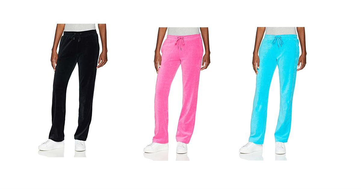 Starter Women's Velour Track Pants ONLY $14.99 (Reg. $28)