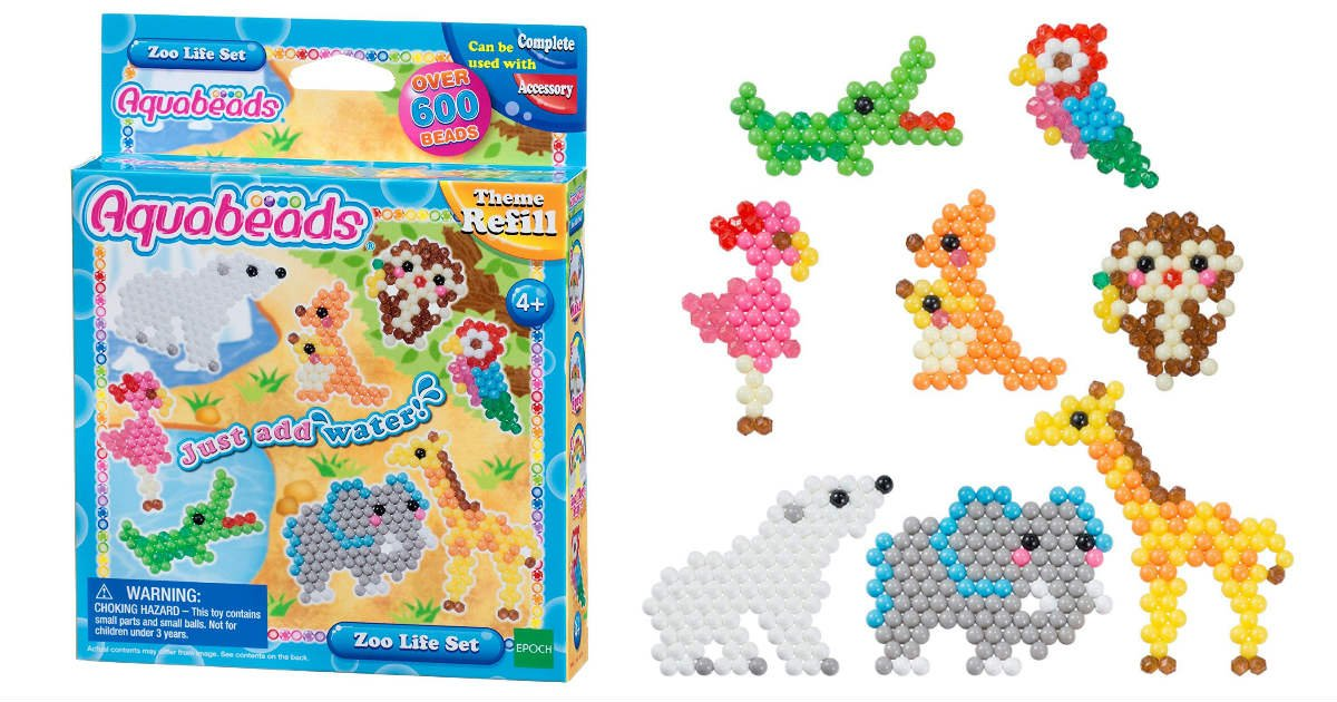 Save 50% on Aquabeads Zoo Life...