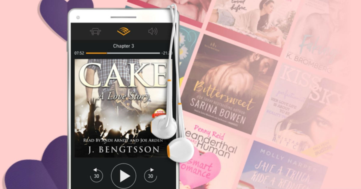 free audible romance