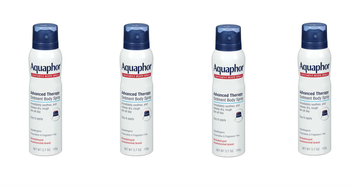 picture about Aquaphor Printable Coupon titled Aquaphor System Spray Merely $4.32 at Focus (Reg. $9.99