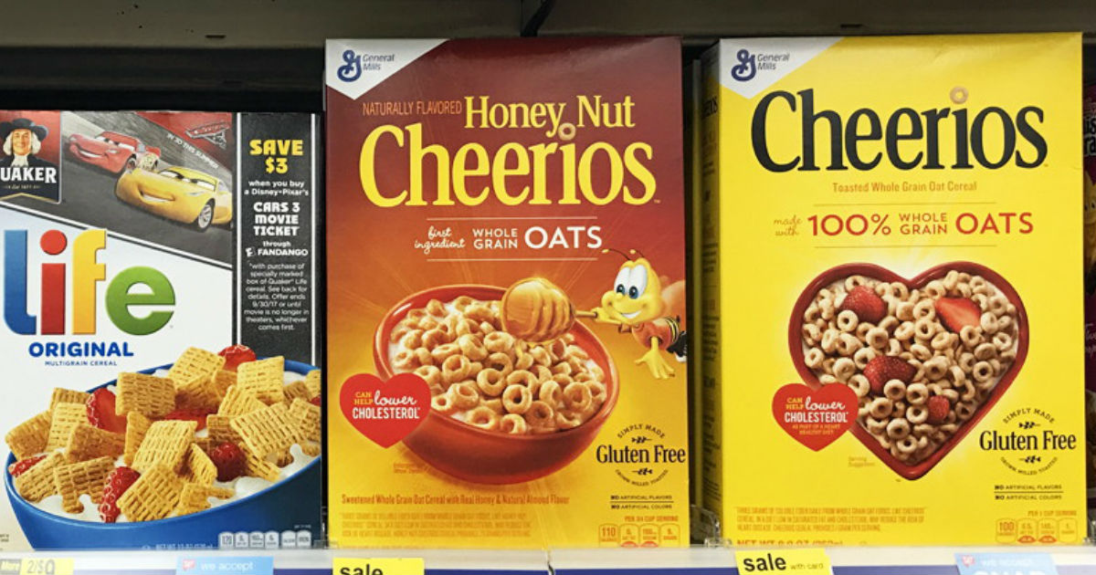 Honey Nut Cheerios ONLY $1.35 at Walgreens