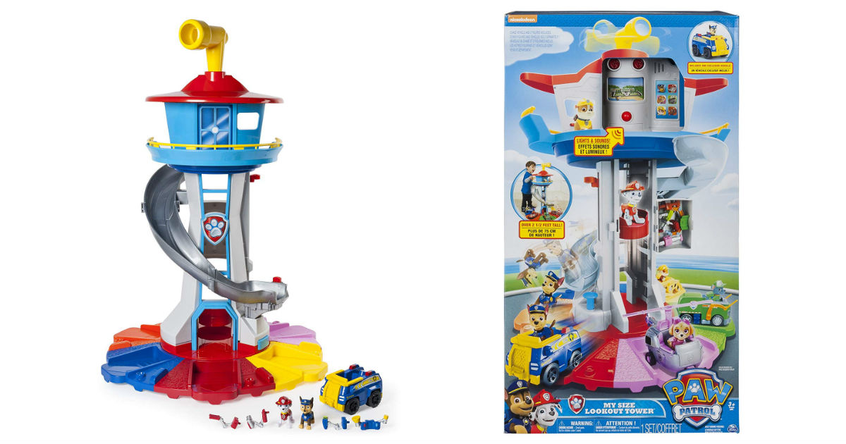 Paw Patrol Tower on Amazon