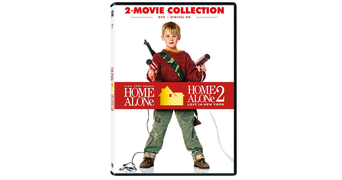 Home Alone and Home Alone 2 DVD ONLY $4.48 Each on Amazon