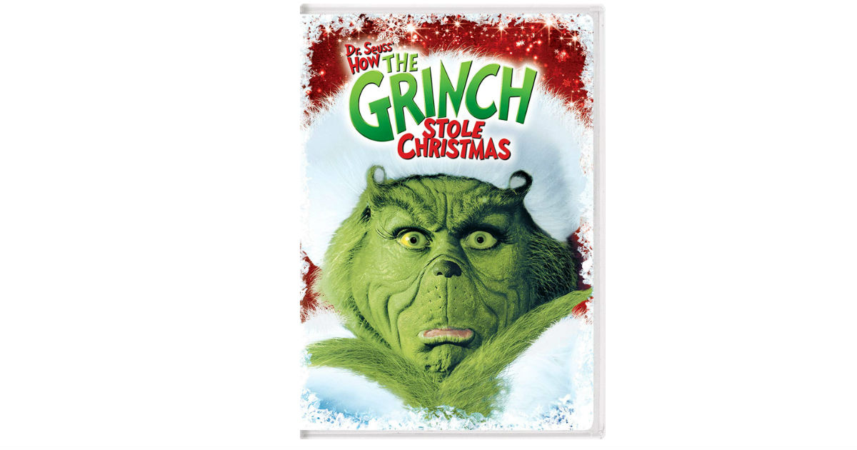 The Grinch DVD on Amazon