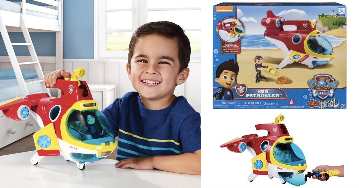 Paw Patrol Sub Patroller Vehicle ONLY $17.49 (Reg. $35) Shipped