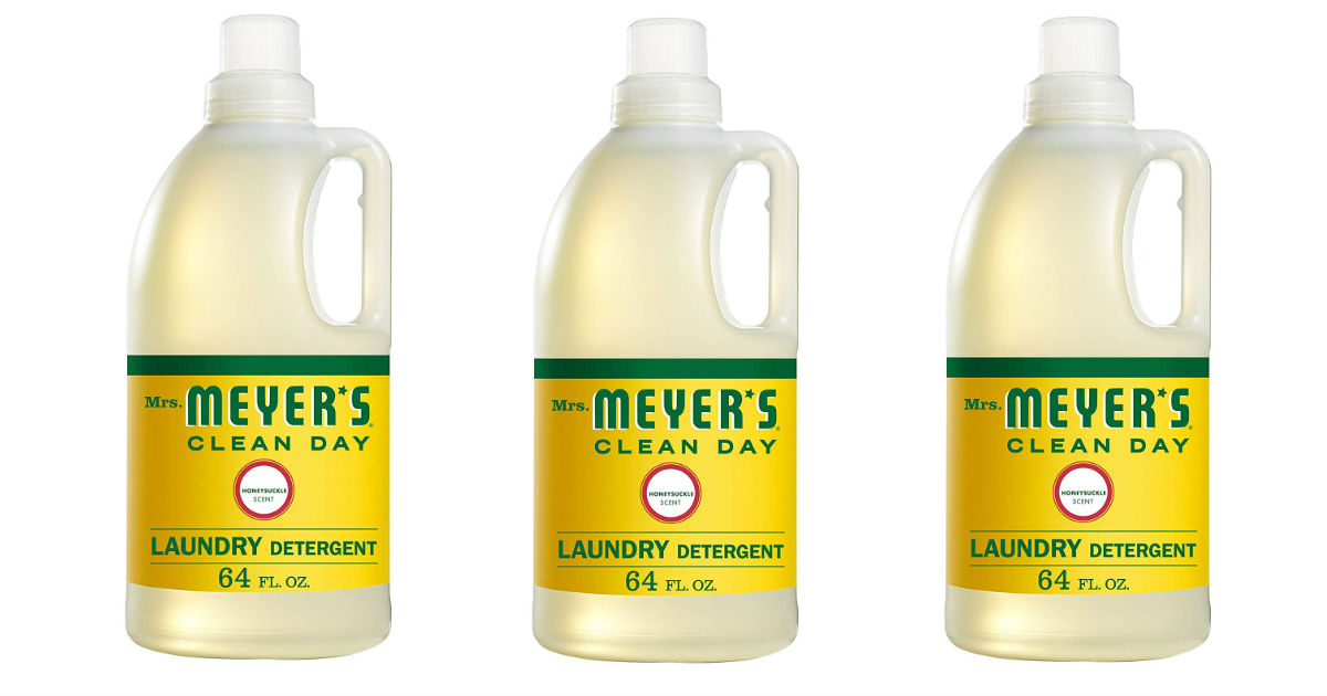 Save 50% on Meyer's Laundry Detergent ONLY $7.99 (Reg. $16)