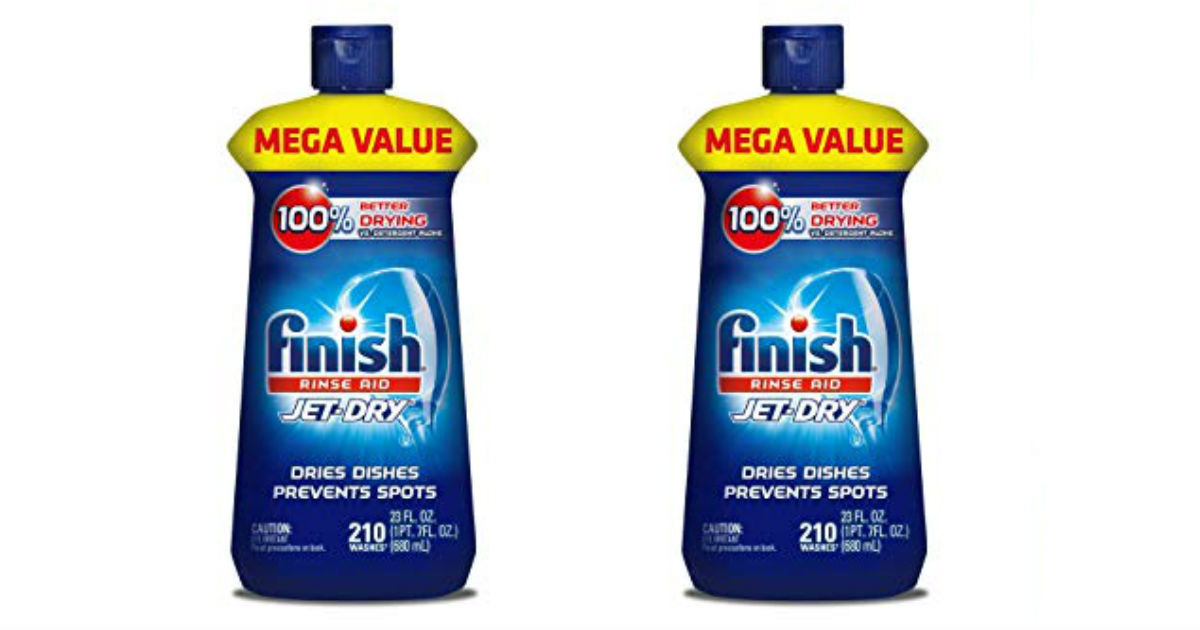 Today Only: Finish Jet-Dry ONLY 6.64 Shipped (Reg. $10.71)