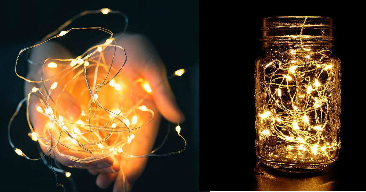 Today Only: 4-Pack LED String Lights ONLY $11.99 (Reg. $20)