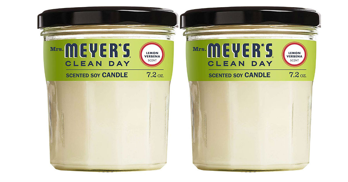 Mrs. Meyer's Soy Candles 2-Pack ONLY $8.23 Shipped (Reg. $19.98)