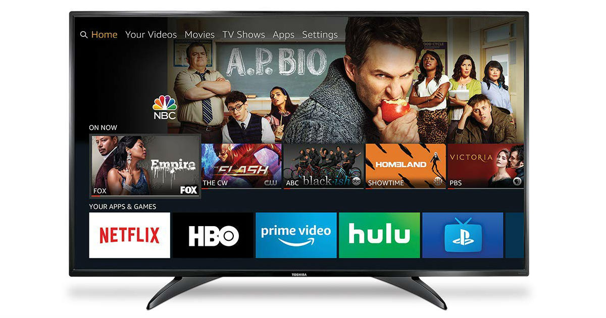 Toshiba 32-Inch Smart LED Fire TV ONLY $129.99 (Reg. $180)