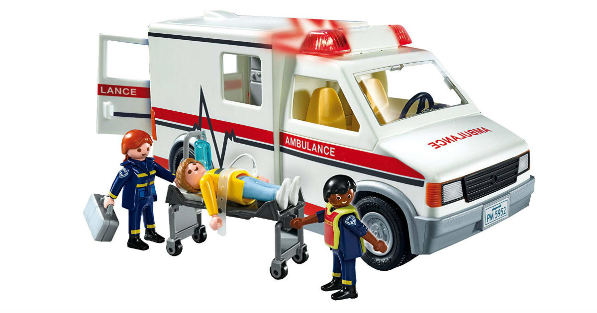 Playmobil Rescue Ambulance ONLY $14.90 (Reg. $25)