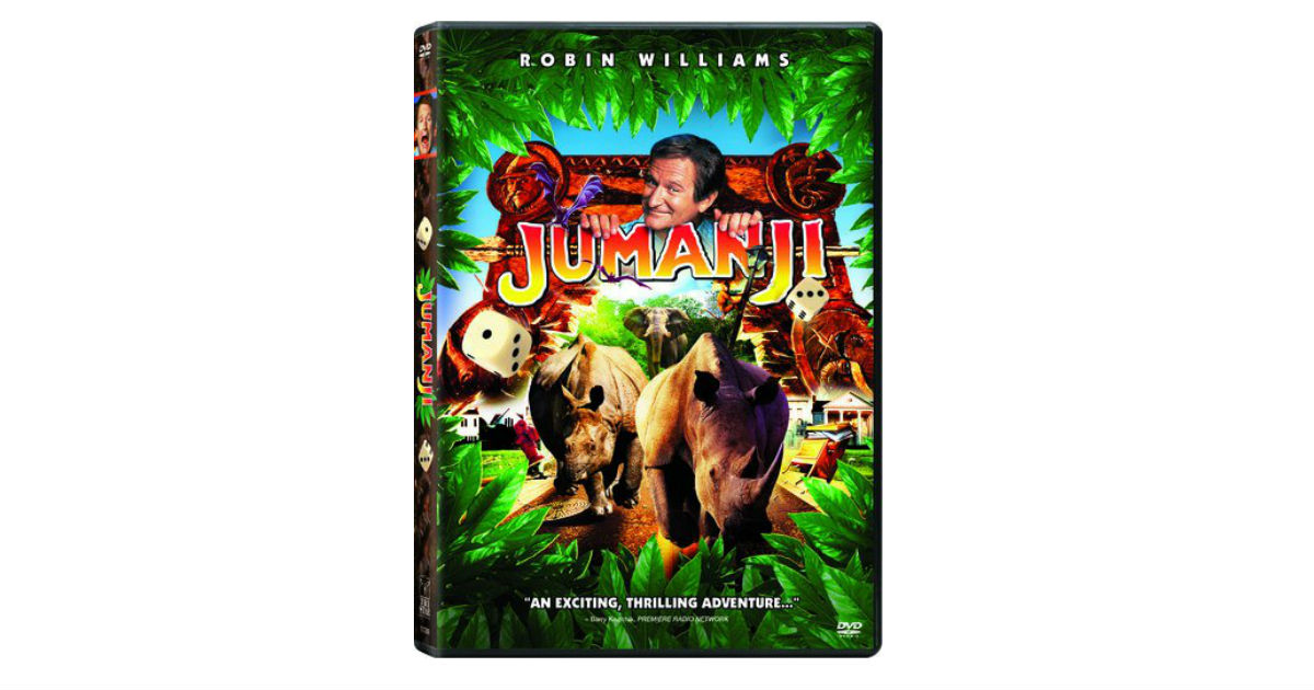 Jumanji DVD ONLY $4.99 Shipped on Amazon