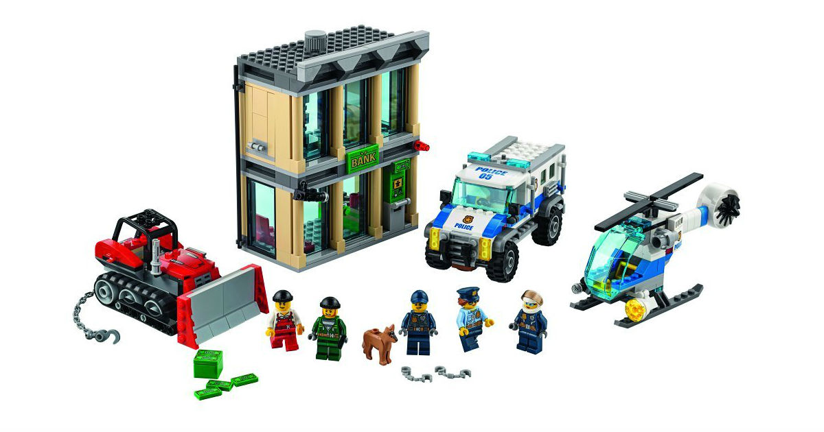 LEGO City Police Buldozer Building Kit ONLY $38.99 (Reg. $70)