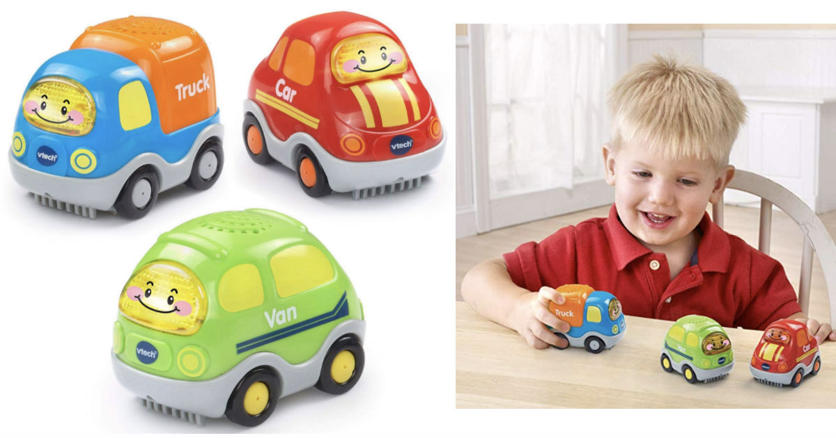 VTech Go! Go! Smart Wheels Everyday Vehicles 3-Pk ONLY $14.75