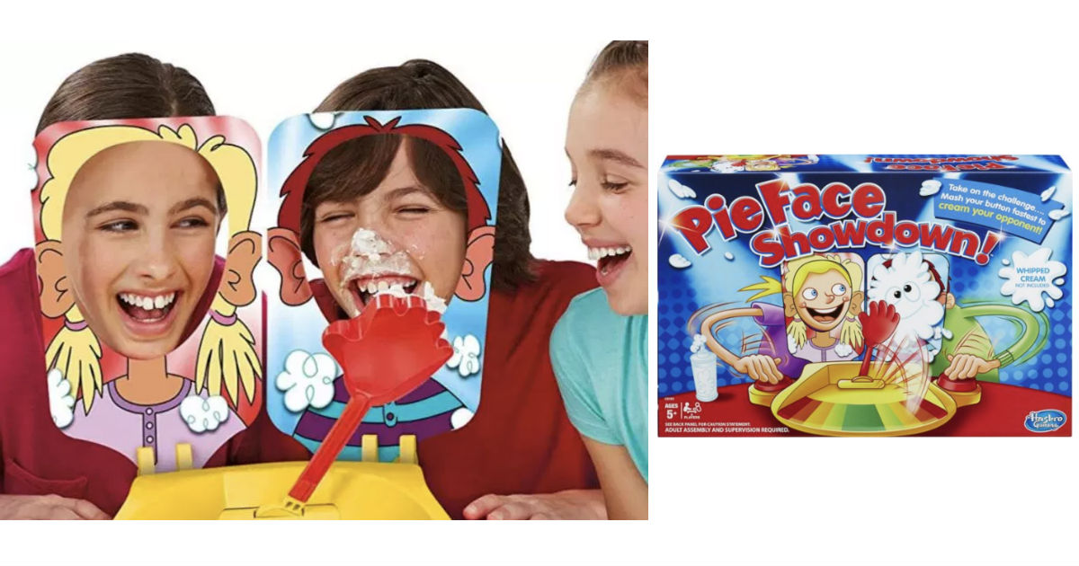 Hasbro Pie Face Showdown Game.