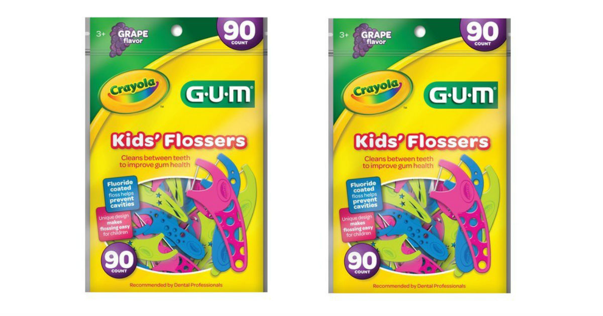 GUM Kids' Flossers ONLY $1.09 at Target (Reg. $2.99)