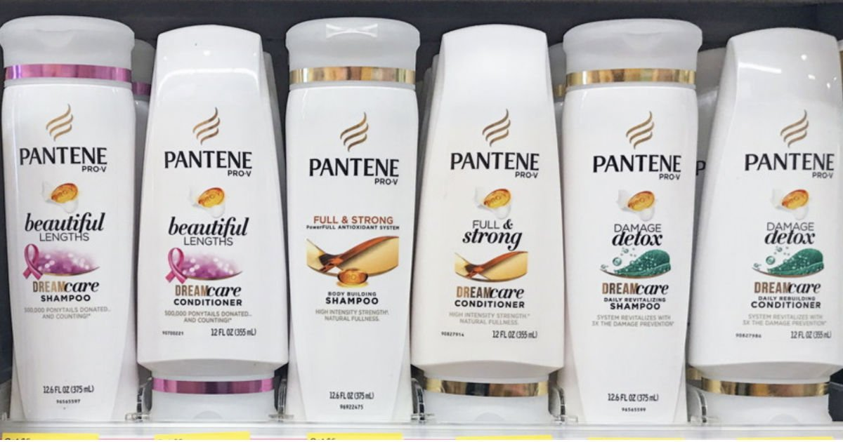 Pantene Shampoo or Conditioner ONLY $1.67 at Walgreens