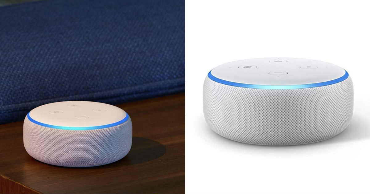 3-Pk Amazon Echo Dot 3rd Gen ONLY $69.97 Shipped ($23 each)
