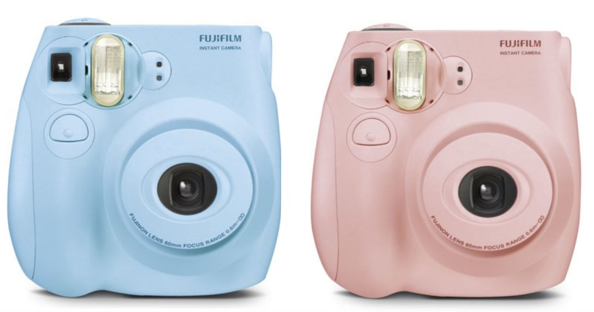 Fujifilm Instax Mini 7S Instant Camera ONLY $39 Shipped