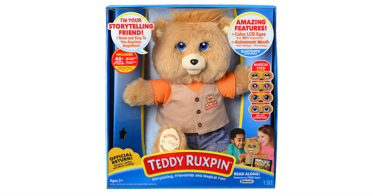 Save 57% on Teddy Ruxpin ONLY $45.00 Shipped (Reg. $105)