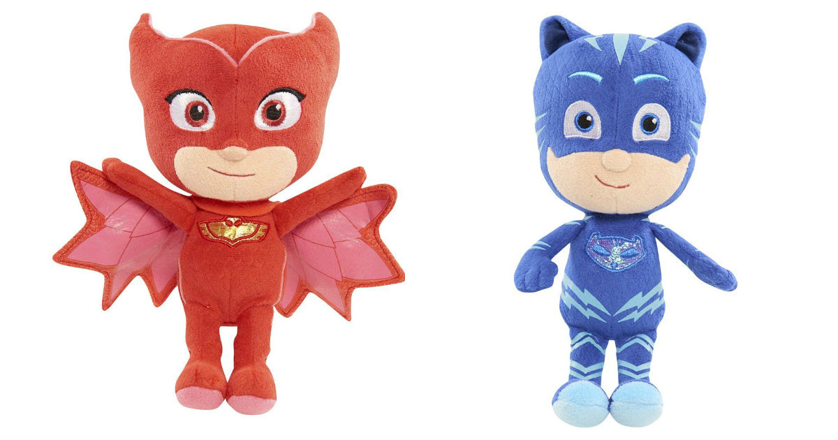 PJ Masks Plush as Low as $5.99 on Amazon