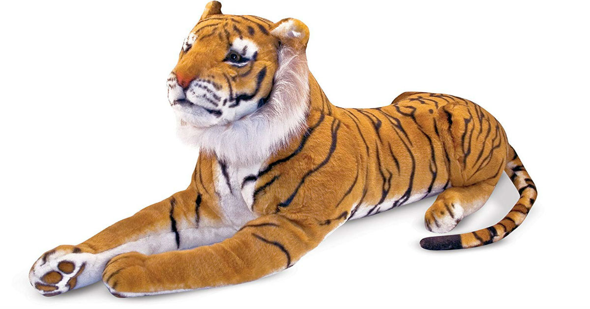 Save 54% on Melissa & Doug Plush Tiger on Amazon