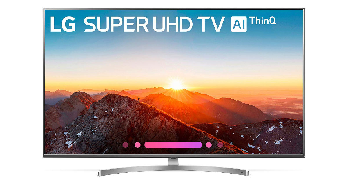 Save 42% on LG 55-Inch 4K LED TV: $697 Shipped (Reg. $1200)