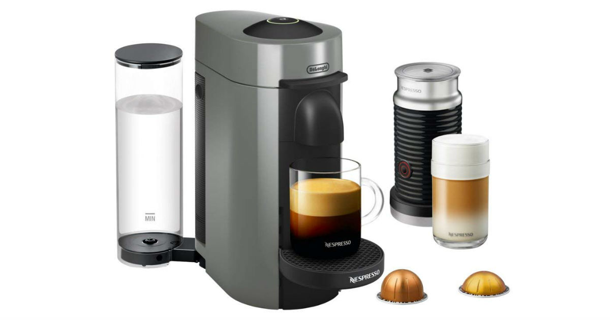 Save 50% on Nespresso VertuoPlus Deluxe Coffee Maker on Amazon