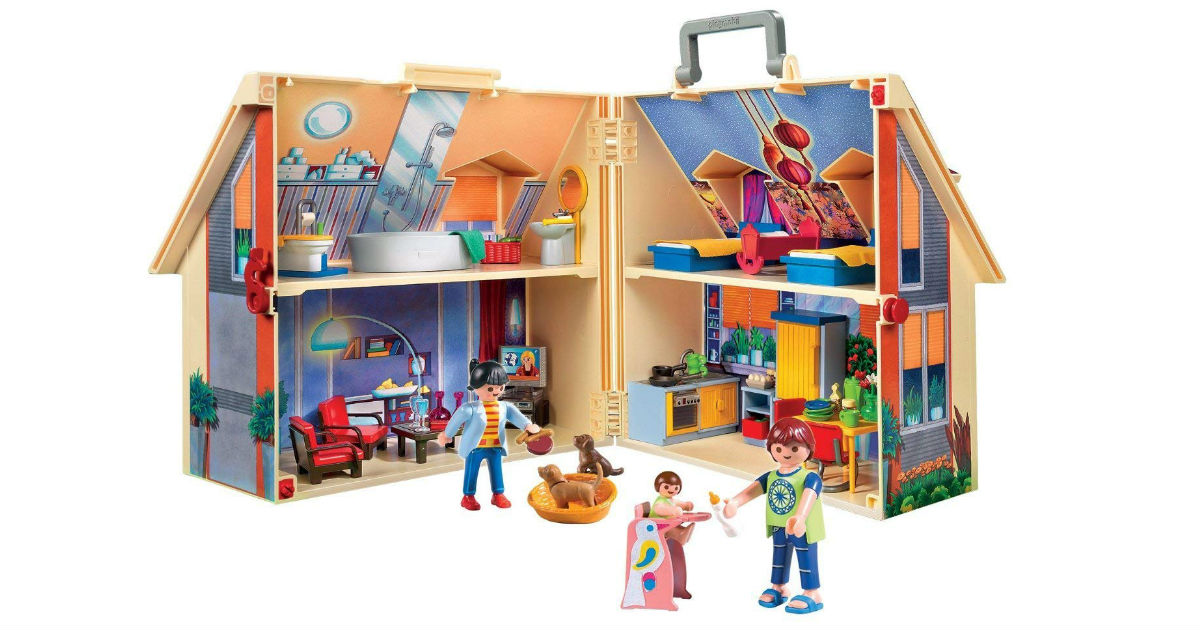 Save 62% on Playmibil Doll House ONLY $25.95 (Reg. $63)