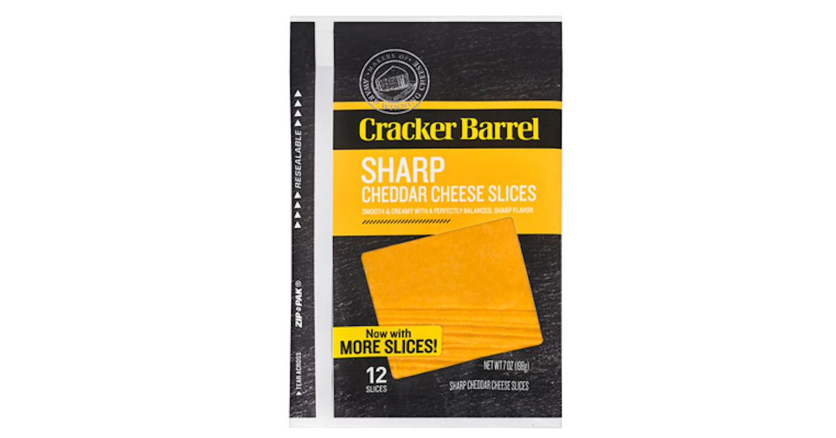 Cracker Barrel Cheese Slices