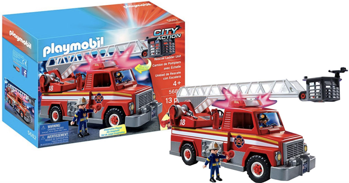 Save 50% on Playmobil Rescue L...